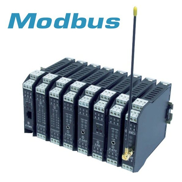 Convertidor de señal Modbus